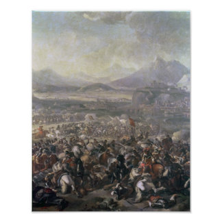 The Battle of Montjuic, 16th January 1641 Poster