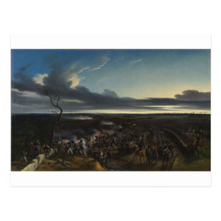 The Battle of Montmirail by Horace Vernet Postcard