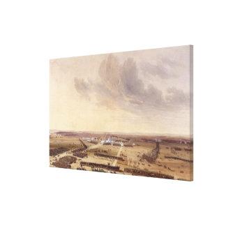 The Battle of Montmirail Canvas Print