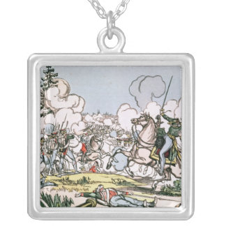 The Battle of Moscow, 7th September 1812 Silver Plated Necklace