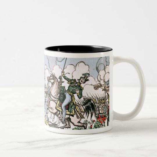 The Battle of Moscow, 7th September 1812 Two-Tone Coffee Mug
