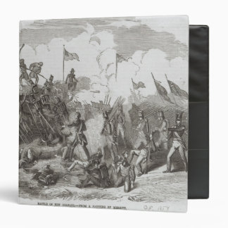 The Battle of New Orleans 3 Ring Binder
