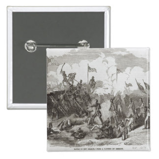 The Battle of New Orleans 2 Inch Square Button
