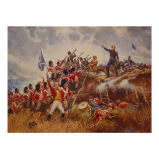The Battle of New Orleans by Edward Percy Moran Posters