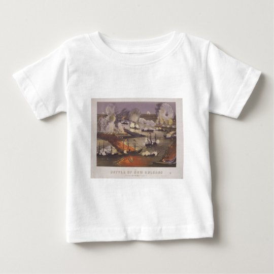 The Battle of New Orleans by Thomas S. Sinclair Baby T-Shirt