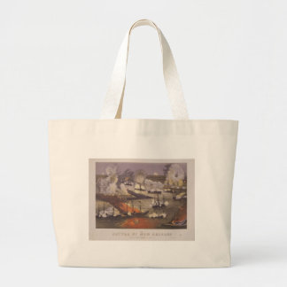 The Battle of New Orleans by Thomas S. Sinclair Jumbo Tote Bag