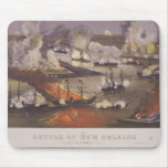 The Battle of New Orleans by Thomas S. Sinclair Mouse Pad