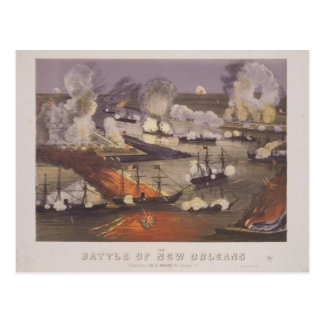The Battle of New Orleans by Thomas S. Sinclair Postcard