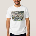 The Battle of New Orleans, pub.Nathaniel Currier T-shirt