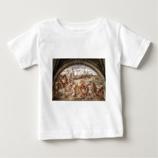 The Battle of Ostia by Raphael Baby T-Shirt