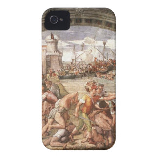 The Battle of Ostia by Raphael iPhone 4 Cover