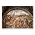 The Battle of Ostia by Raphael Postcard