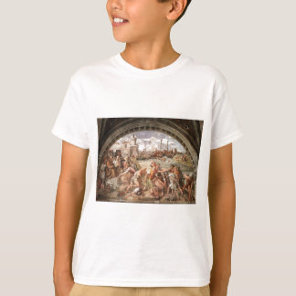 The Battle of Ostia by Raphael T-Shirt