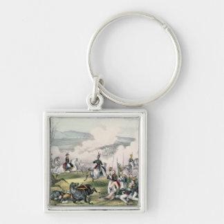 The Battle of Palo Alto, California, 8th May 1846 Keychain