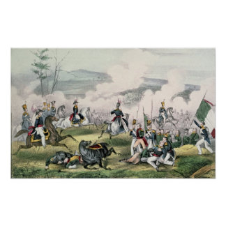 The Battle of Palo Alto, California, 8th May 1846 Poster
