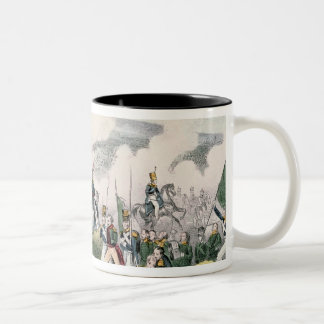 The Battle of Palo Alto, California, 8th May 1846 Two-Tone Coffee Mug