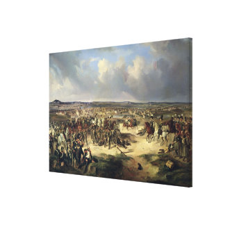 The Battle of Paris on 17th March 1814, 1834 Canvas Print