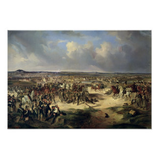 The Battle of Paris on 17th March 1814, 1834 Poster