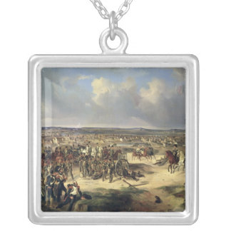 The Battle of Paris on 17th March 1814, 1834 Silver Plated Necklace