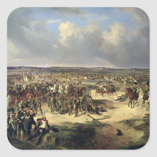The Battle of Paris on 17th March 1814, 1834 Square Sticker