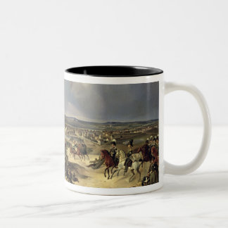 The Battle of Paris on 17th March 1814, 1834 Two-Tone Coffee Mug
