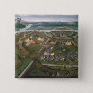 The Battle of Pavia in 1525, c.1530 Pinback Button