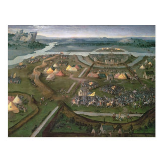 The Battle of Pavia in 1525, c.1530 Postcard