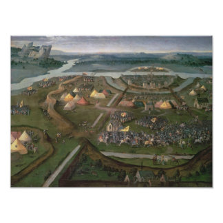 The Battle of Pavia in 1525, c.1530 Poster