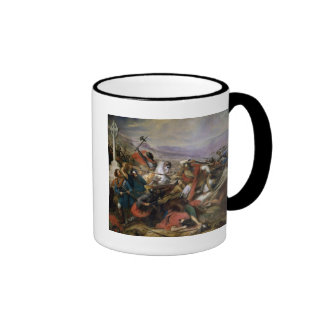 The Battle of Poitiers, won by Charles Martel Ringer Mug