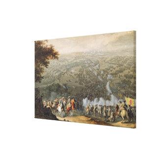 The Battle of Poltava 2 Canvas Print