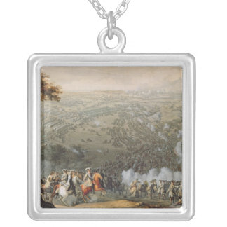 The Battle of Poltava 2 Silver Plated Necklace
