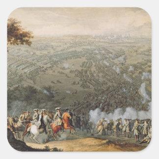 The Battle of Poltava 2 Square Sticker