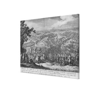 The Battle of Poltava Canvas Print