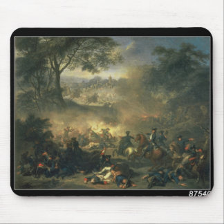 The Battle of Poltava in 1709, 1717 Mouse Pad