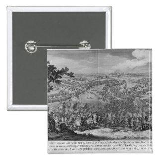 The Battle of Poltava Pinback Button