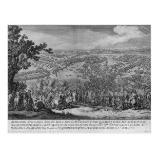 The Battle of Poltava Postcard