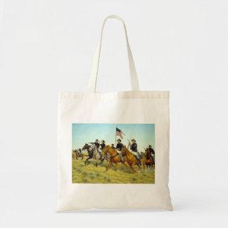 The Battle of Prairie Dog Creek by Ralph Heinz Tote Bag