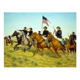The Battle of Prairie Dog Creek by Ralph Heinz Postcard