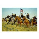 The Battle of Prairie Dog Creek by Ralph Heinz Posters