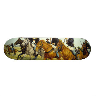 The Battle of Prairie Dog Creek by Ralph Heinz Skate Deck