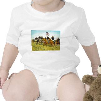 The Battle of Prairie Dog Creek by Ralph Heinz T-shirts