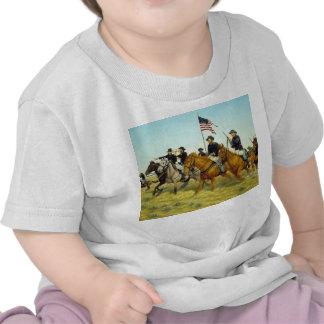 The Battle of Prairie Dog Creek by Ralph Heinz Tshirts
