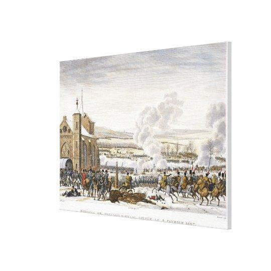 The Battle of Preussisch-Eylau, 9 February 1807, e Canvas Print