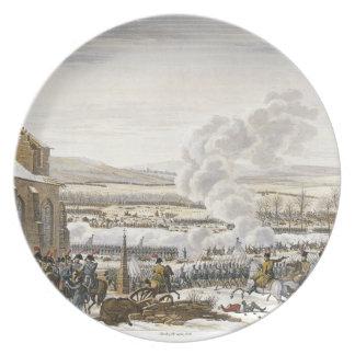 The Battle of Preussisch-Eylau, 9 February 1807, e Melamine Plate