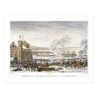 The Battle of Preussisch-Eylau, 9 February 1807, e Postcard