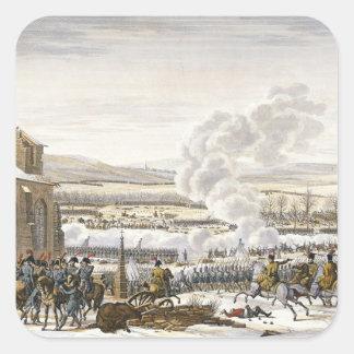 The Battle of Preussisch-Eylau, 9 February 1807, e Square Sticker