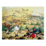 The Battle of Puebla, 5 May 1862 Poster