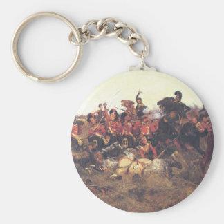 The Battle of Quatre Bras in 1815 Keychain