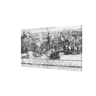 The Battle of Ramillies, 23rd May 1706 Canvas Print