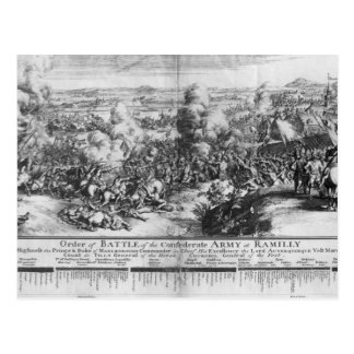 The Battle of Ramillies, 23rd May 1706 Postcard